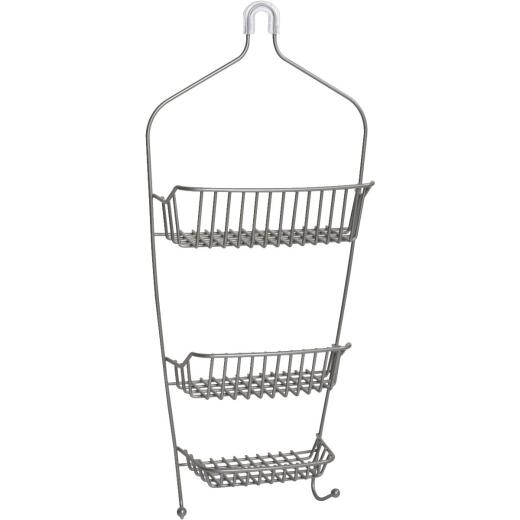 Zenith Rust-Resistant Metal 11-3/4 In. x 27 In. Shower Caddy