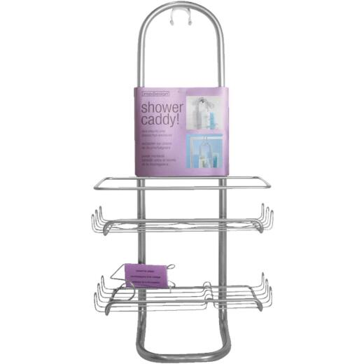 InterDesign Classico Silver Shower Caddy